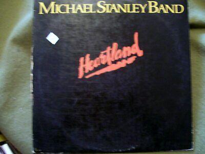 MICHAEL STANLEY BAND HEARTLAND 1980 RECORD EMI RECORDS SW 17040