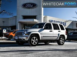 2007 Jeep Liberty low low low km-Lthr-Sunroof-4x4