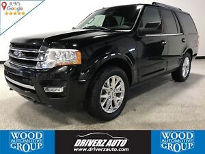 2017 Ford Expedition Limited 7 PASSENGER, POWER FOLDING 3RD R...
