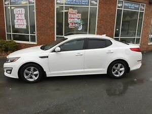2014 Kia Optima LX w/ Heated Seats, Bluetooth, Power Seat