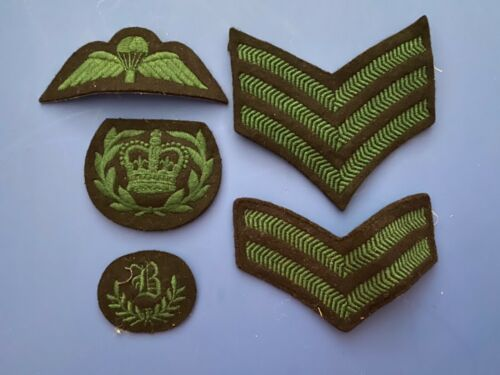 Royal Irish Regiment British Army Rank and Trade Badges