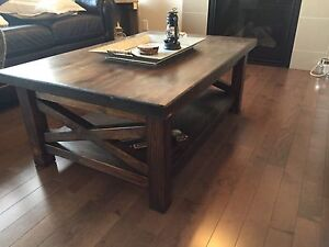 """30"""" x 48"""" Solid Pine Coffee Table"""
