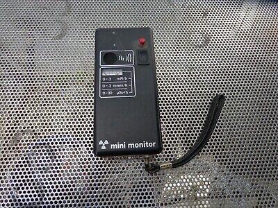 Mini-monitor Radiation Survey Meter Untested