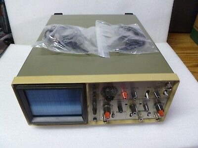 Hitachi V-212 20mhz Two Channel Oscilloscope With 2 Probes