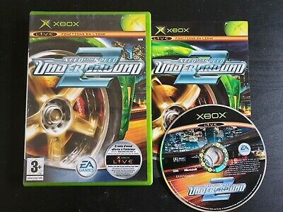 XBOX : need for speed underground 2