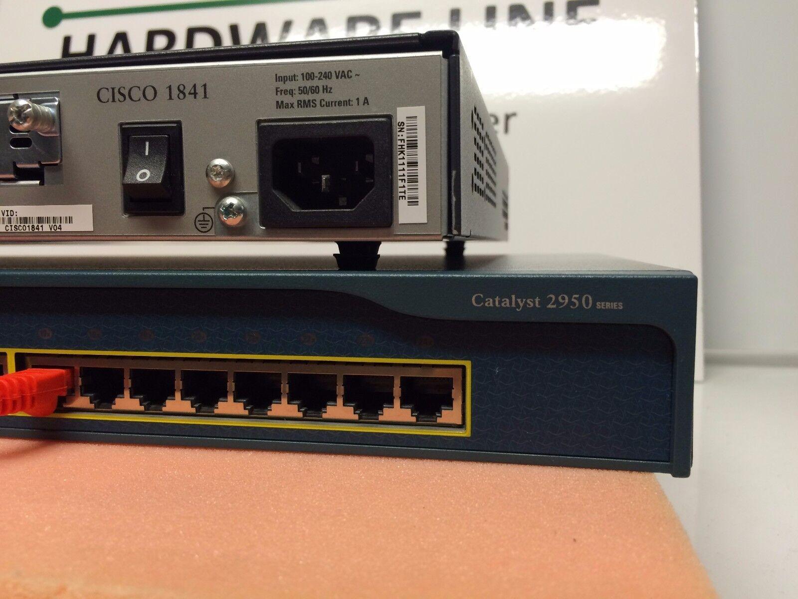 Cisco CCENT CCNA Lab Economy 1* Star 1x Router 1x Switch