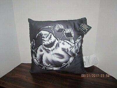Nightmare Before Christmas Pillow (The Nightmare Before Christmas Oogie Boogie Throw Toss Pillow Decoration 13 X)