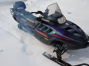 Arctic cat 580cc electric start efi with reverse 1999 studded