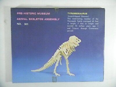 Woodcraft Activity Kit - TYRANNOSAURUS Dinosaur Wood Skeleton Kit NEW Action Animal Craft