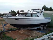 Bayliner Saratoga 25 ft boat $12500 may swap bobcat,charger,pacer Gawler Gawler Area Preview