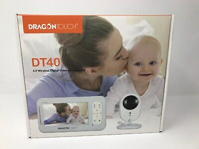 Dragon Touch - DT40 - 4.3 Inch Wireless Digital Video Baby Monitor with Camera