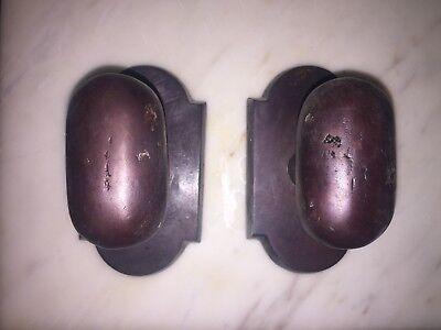 Emtek Dummy Set (Emtek Sandcast Bronze dummy knob set )