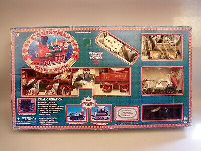 Christmas Magic Express Train Set #5410 by Toy State, Ltd. In Original Box