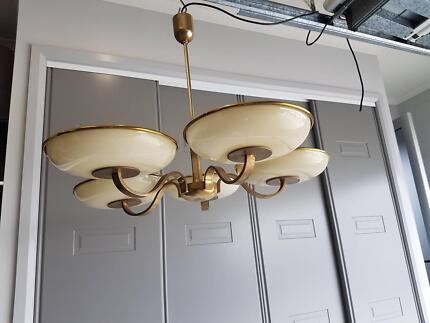 Antique art deco light fitting