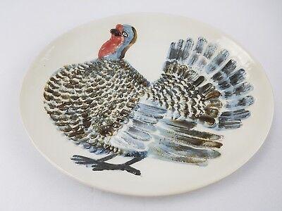 louvisville stoneware 2004 turkey platter made in USA