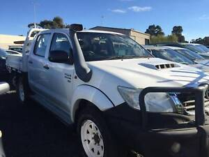 TOYOTA HILUX DUAL CAB 2014 Mount Clear Ballarat City Preview