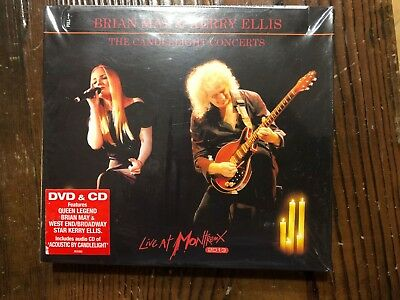 BRIAN MAY KERRY ELLIS-Candlelight Concerts-Live At Montreux 2013-CD+DVD NEW