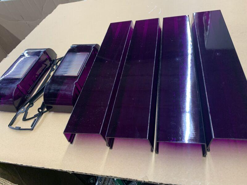 Purple Lens Kit For Whelen Edge 9000 Light Bars