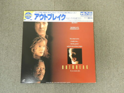 Outbreak - Laser Disc - OBI JAPAN LD 2disc