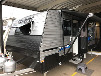 "OLYMPIC Marathon 17'6"" SINGLE AXLE, ENSUITE CARAVAN. North St Marys Penrith Area Preview"