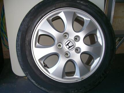 Set of alloys and tyres for sale Singleton Rockingham Area Preview