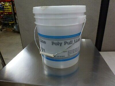 Condux 08561285 Poly Pull Line Pulling Twine 6500 200 Lb In Bucket