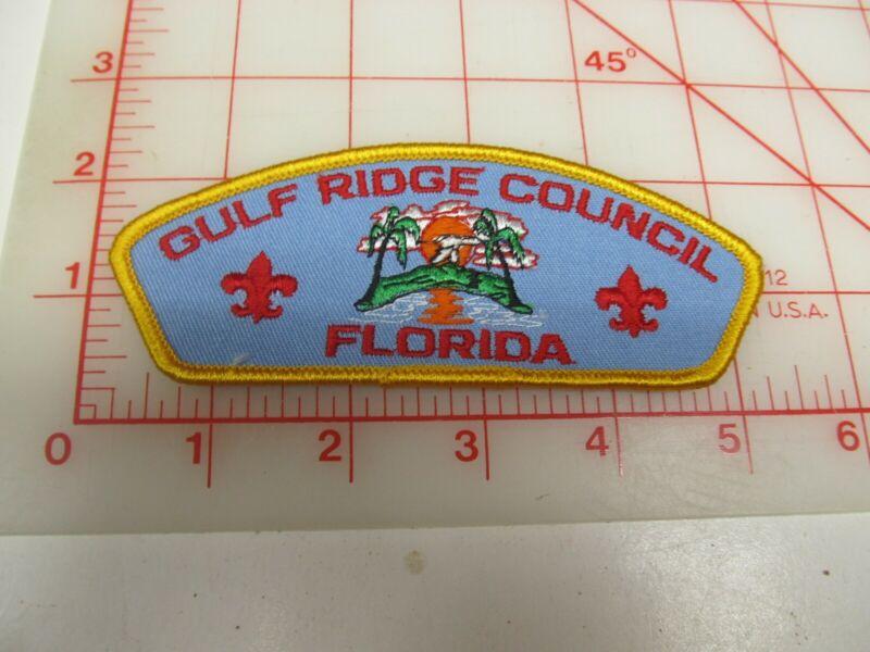Gulf Ridge Council CSP collectible PB patch (o34)