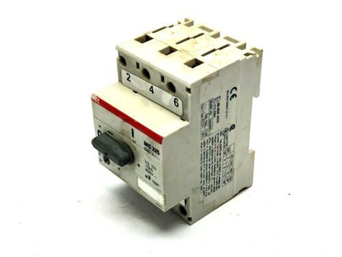 ABB MS 225 Manual Motor Starter 690V 50/60Hz 3ph