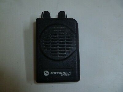Motorola Minitor V 45-48.9 Mhz Low Band Fire Ems Pager Od536e