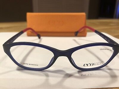 ECO KIDS BORN BIOBASED Eyeglasses Frames - Indigo-44-15-126 WITH (Eco Glasses Frames)