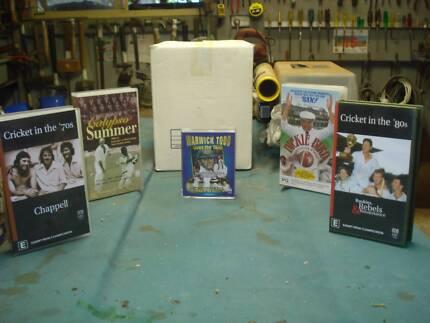 Cricket memorabilia, 70's and 80's videos