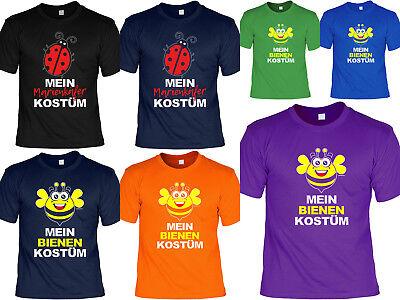 Karneval T-Shirts - Biene - Bienchen - Marienkäfer - Erwachsenen Bienen Kostüme