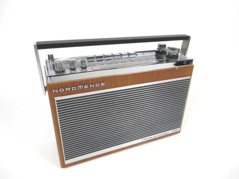 Vintage NordMende Globetraveler Pro AM/FM Shortwave Radio Germany