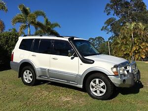 2004 MITSUBISHI PAJERO EXCEED TURBO DIESEL AUTO. FINANCE AVAILABLE Mount Nathan Gold Coast West Preview