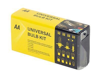 AA Universal Bulb Kit H7 H4 H1 Headlamp Indicator Car Spare Fuses Replacement