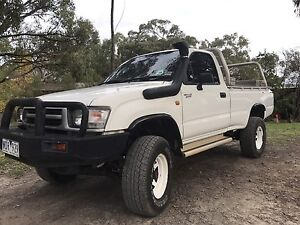 Toyota Hilux 4x4 turbo diesel ute Swap Cockatoo Cardinia Area Preview