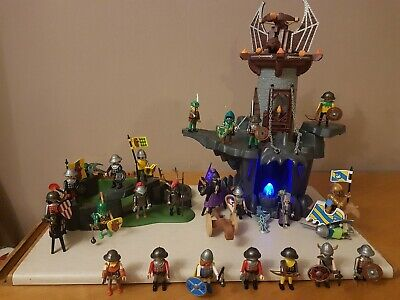 Playmobil Knight and Castle Bundle with 23 Figures