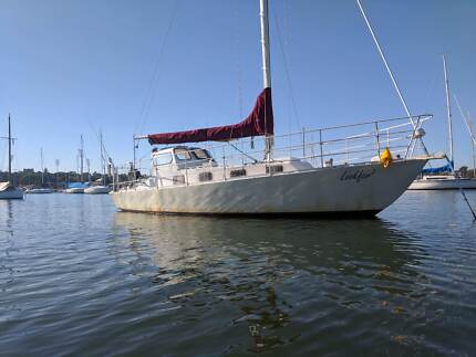 Yacht 34ft Steel monohull Sailboat