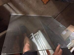 Sliding window glass-good condition