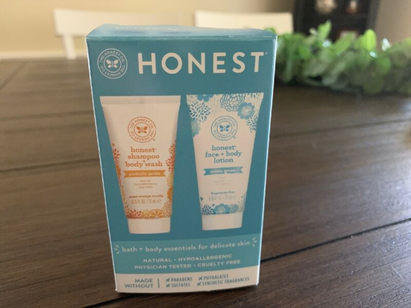 The Honest Co. Honest Face + Body Lotion & Honest Shampoo + Body Wash, Baby