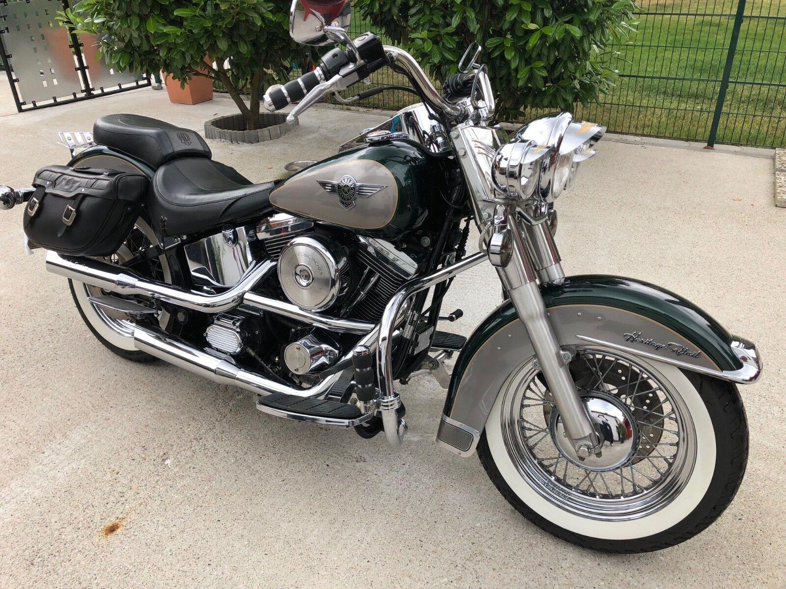 Harley-Davidson Softail Heritage Nostalgia Evo 2.Hand Dt. Modell