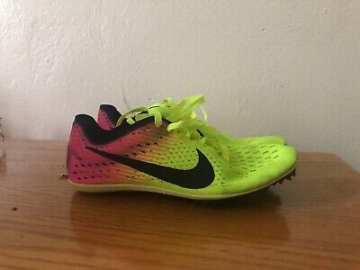 new arrival f04bd 54909 NIKE ZOOM VICTORY 3 RIO TRACK   FIELD SPIKES SIZE 4 VOLT PINK BLACK 835997 -999