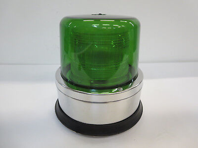 North American Signal Co St1250-acg Strobe-120v Ac Green Ul-permanent Mount