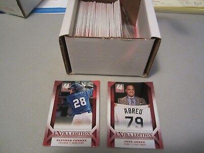 2013 Panini Elite Extra Edition Baseball 100 Card Base Set GLEYBER TORRES RC NM Extra Baseball Base