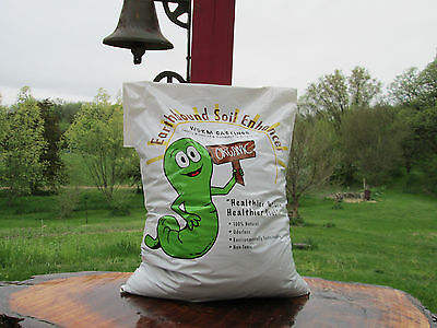 Organic worm castings, 15 lbs. Natures odorless soil enhancer for all plants. (Casting Worm)