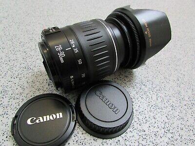 Canon EF 28-90mm 1:4-5.6 II Zoom Lens for Canon EOS DSLR SLR (K500)