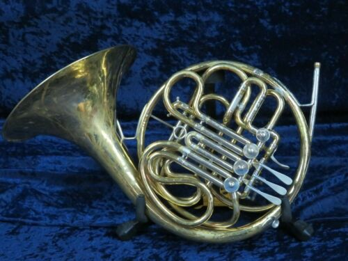 C.G. Conn 6D Double French Horn Ser#E75138 Really Big Bold Sound!