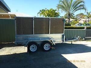 9 x 5 Winch Tipper Tandem Box Cage Galvanised Trailer Urangan Fraser Coast Preview