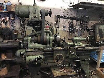 Lathe Machine - Used Vintage Hendey Brand - Made In Usa