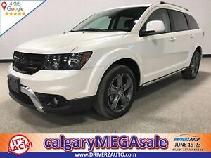2018 Dodge Journey Crossroad CLEAN CARFAX ,SUNROOF,  LEATHER,...
